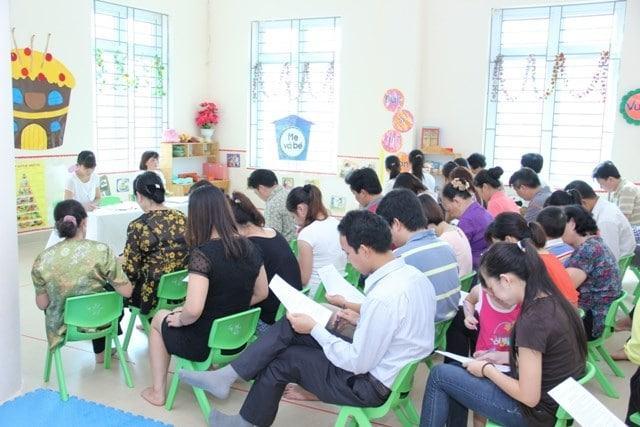 họp phụ huynh học sinh